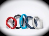 Jawbone's Up in various colors