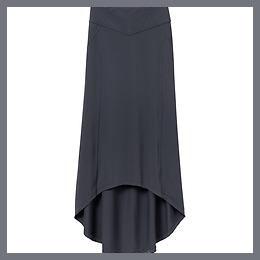 Thrones Maxi Skirt - Flint Grey